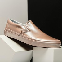 VANS CLASSIC SLIP ON (METALLIC SIDEWALL)