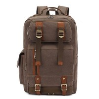 Europe men's shoulders bag backpack men backpack canvas backpack