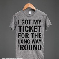 The CUP Song-Unisex Athletic Grey T-Shirt