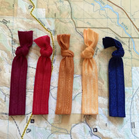 Aspen Park Hair Tie Set | 5 Ties | Elastic | Soft & Stretchy
