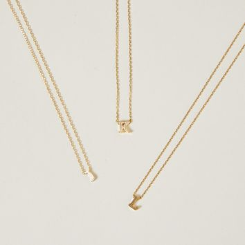 Dainty Letter Necklace