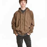 H&M Hooded Raglan-sleeved Jacket $39.99