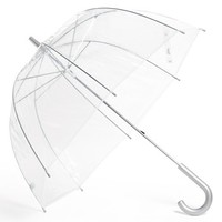 Capelli of New York Clear Manual Dome Umbrella (Juniors) (Online Only)