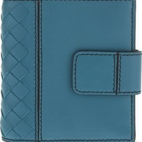 BOTTEGA VENETA - Small Intrecciato woven leather wallet | Selfridges.com