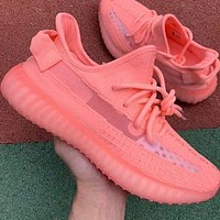 Adidas Yeezy Boost 350V2 Coconut Co-branded Popcorn Running Shoes Series-1