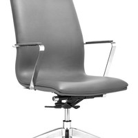 ZUOmod Herald High Back Office Chair - Black, White or Gray