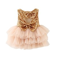 Baby Girl Baptism Dress For born Baby Girl First Birthday Outfit Infant Party Dress Children Costume For Girls Kids Clothes