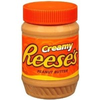 Reese's Creamy Peanut Butter, 18-Ounce Jars (Pack of 6)