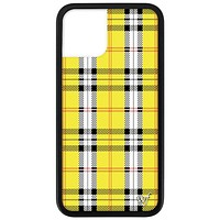 Plaid iPhone 11 Pro Case | Yellow