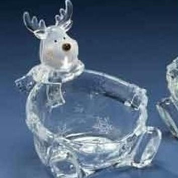 Reindeer Candy Dish - Food Safe Container