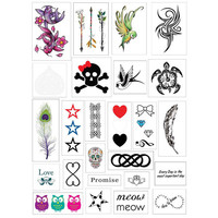 Cute Pack of 25 Tattoos