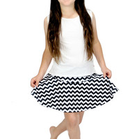Dirtee Hollywood Chevron Skirt | Mod Angel