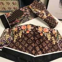 Louis Vuitton Stylish Print Folding Umbrella Style 6 - Best Online Sale