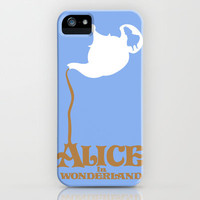 Alice in Wonderland iPhone Case by Citron Vert | Society6