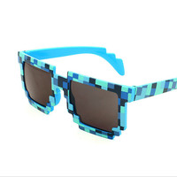 Lovely Mosaic grid sunglasses