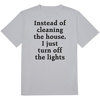 Instead Of Cleaning Tee