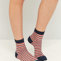 Striped Ankle Socks - Urban Outfitters
