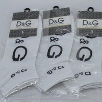 3pairs/lot  5pairs/lot Dolce & Gabbana Socks brand Business Casual socks cheap and high quality