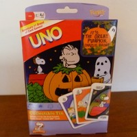 It's the Great Pumpkin Charlie Brown Uno Edition