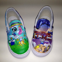 Custom Hand Painted Shoes by vault112 on Etsy