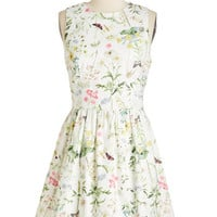 ModCloth Mid-length Sleeveless To the Best of my Cottage Dress