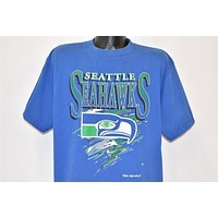 90s Seattle Seahawks NFL Football t-shirt Extra Large