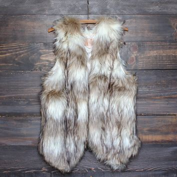Final Sale - Wild Child Faux Fur Vest