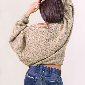 Rehab Baggy Hobo Sweater