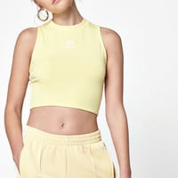 Adicolor Yellow Cropped Tank Top