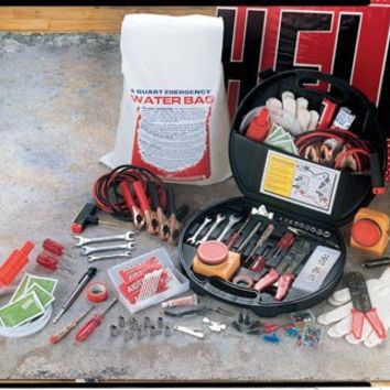 Highway Roadside Emergency Kit from Collections Etc.