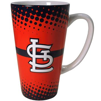 St. Louis Cardinals - Logo 16 oz Latte Mug
