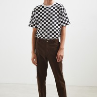 UO Checkered Tee | Urban Outfitters