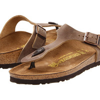 Birkenstock Gizeh Oiled Leather Tobacco Oiled Leather - Zappos.com Free Shipping BOTH Ways
