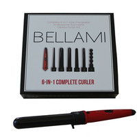 BELLAMI 6 in 1 Complete  Curler Set by Clip-In Hair Extensions | Professional Hair Styling Tools | Haircare by BELLAMI Hair  | Clip-In Hair Extensions | Professional Hair Styling Tools | Haircare by BELLAMI Hair