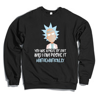 Rick And Morty  Crewneck Sweatshirt