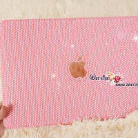 Bling and Stylish MACBOOK Pro / Air / Retina Solid Pink Crystal CASE