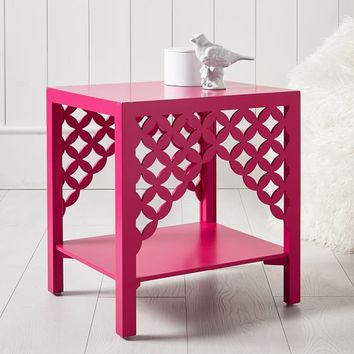 Cut It Out Geo Side Table