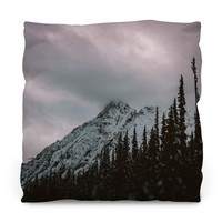 Mountain Love Outdoor Throw Pillow