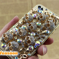 quality iphone case luxury iphone 4 case punk iphone 4 by Veasoon