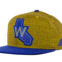Golden State Warriors NBA Impact Camo Snapback Cap