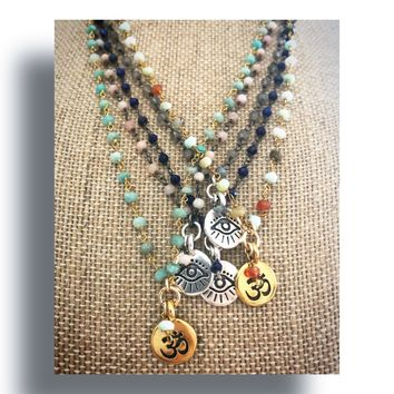 Rosary Spirit Necklaces