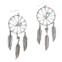 LOVEsick Dreamcatcher Drop Earrings