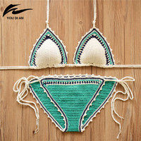 Crochet Bikini Swimsuit