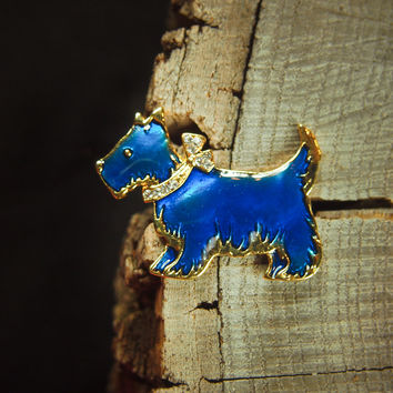 Scottish Terrier Brooch #5129