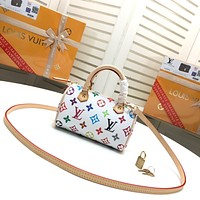 LV Louis Vuitton WOMEN'S MONOGRAM CANVAS Mini SPEEDY HANDBAG SHOULDER BAG