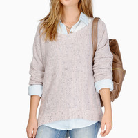 Alyssa Off Shoulder Sweater