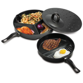Compartment Cooking Pans