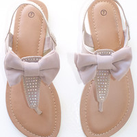 Prep In Your Step Sandals-Nude