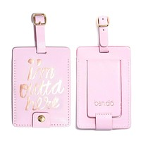 Ban.do - The Getaway Luggage Tag in I'm Outta Here