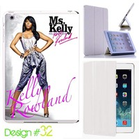 Custom # 32 IPad Air Smart Cover Kelly Rowland Leather Magnetic case